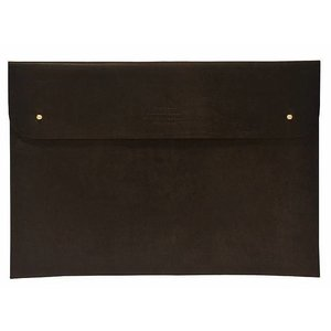 """O My Bag Laptophoes 15"""" - eco leather dark brown"""