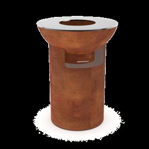 Artola FiQ M hoog cortenstaal - set column L + schaal M