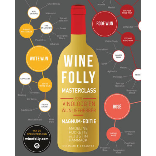 Karakter uitgevers Kookboek Wine Folly Masterclass — Madeline Puckette & Justin Hammack
