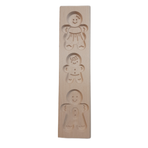 Patisse Speculoosvorm hout familie 30 cm