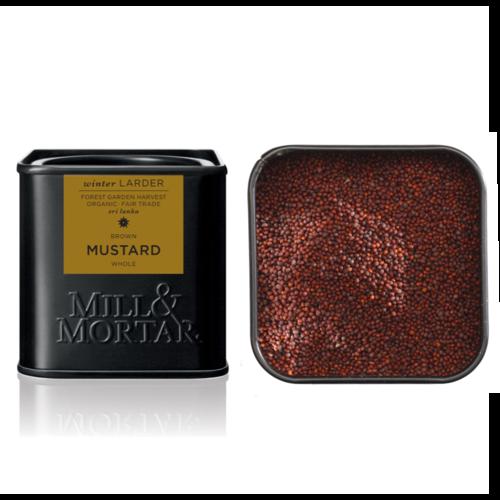 Mill & Mortar Mustard Seeds, brown BIO bruin mosterdzaad