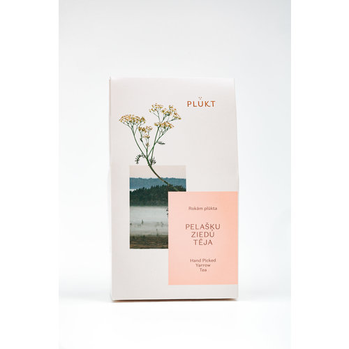 Plukt Yarrow organic losse thee (duizendblad)
