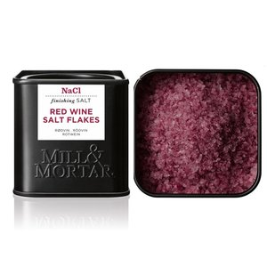 Mill & Mortar Red Wine Salt BIO
