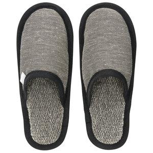 Lapuan Kankurit ONNI slippers black linen linen terry S