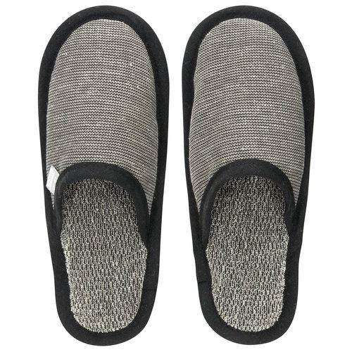 Lapuan Kankurit ONNI slippers black linen linen terry L