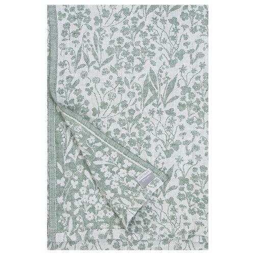 Lapuan Kankurit NIITTY tafelkleed white aspen green washed linen 260