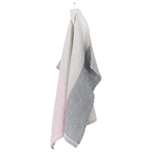 Lapuan Kankurit TERVA handdoek multi-rose washed linen-tencel-cotton