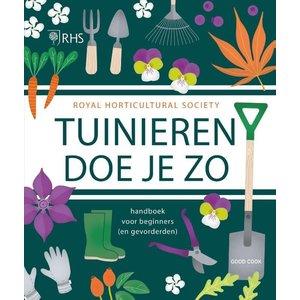 """Boek """"Tuinieren doe je zo - Royal Horticultural Society"""""""