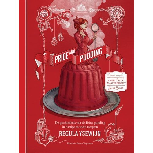 "Kookboek ""Pride & pudding - Regula Ysewijn"""