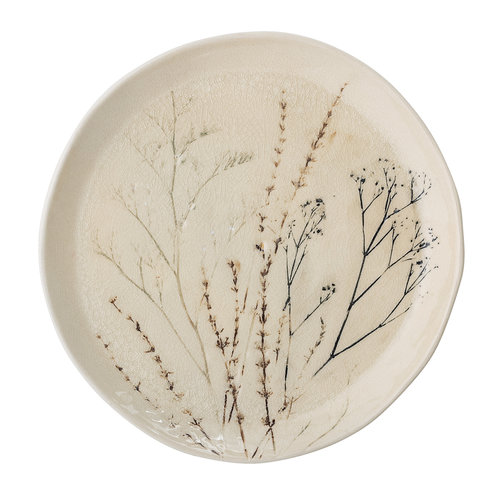 Bloomingville Bea bord, keramiek Ø27,5 cm