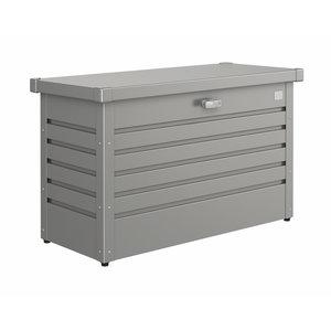 Biohort Hobbybox kussenbox kwartsgrijs metallic