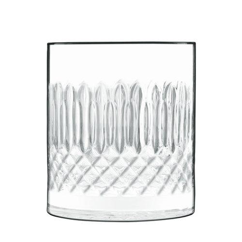 Luigi Bormioli Diamante D.O.F. glas laag - set van 4