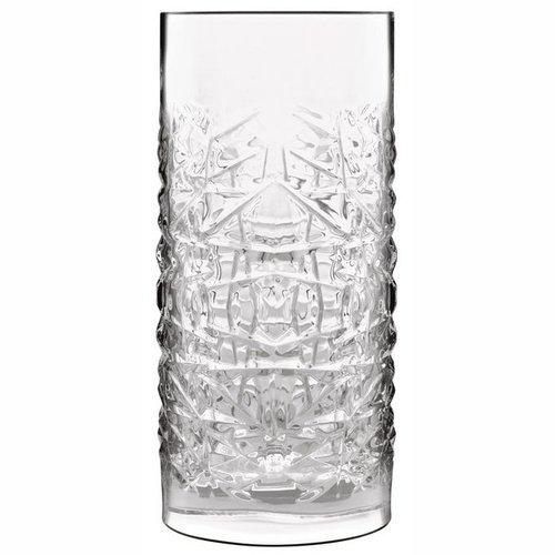 Luigi Bormioli Mixology textures hi-ball glas - set van 6