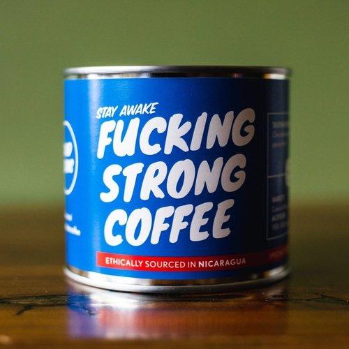 "Goodbeans ""Fucking Strong Coffee"" bonen Nicaragua"