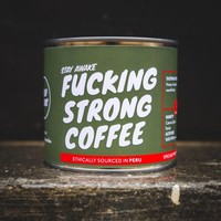 """""""Fucking Strong Coffee"""" bonen Peru"""