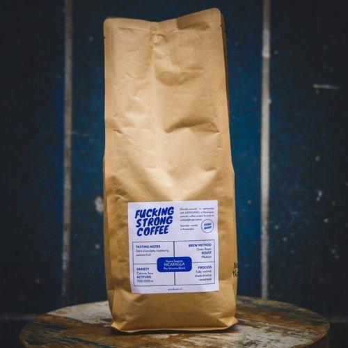 """Goodbeans """"Fucking Strong Coffee"""" gemalen Nicaragua"""