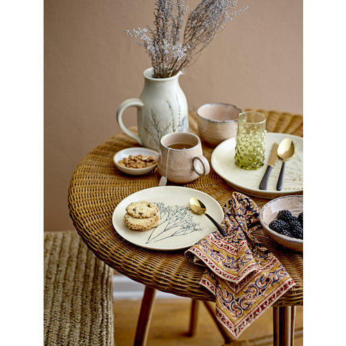 Bloomingville Bea bord, keramiek Ø22 cm