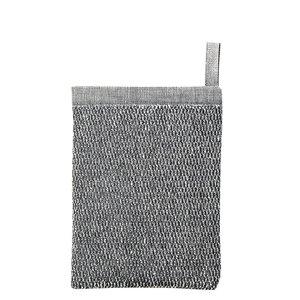 Lapuan Kankurit MERI scrub washand white linen black linen terry