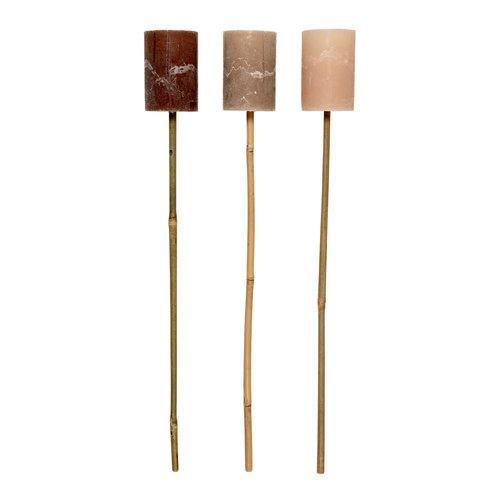 Broste Copenhagen Bamboe fakkel donkerbruin