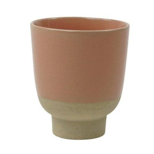 Kinta Rutunda kop M dotted clay rosy 260 ml