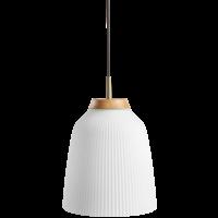Campa hanglamp vermessingd ijzer Ø 35 cm