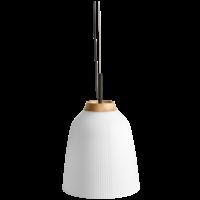 Campa hanglamp verchroomd ijzer Ø 27 cm