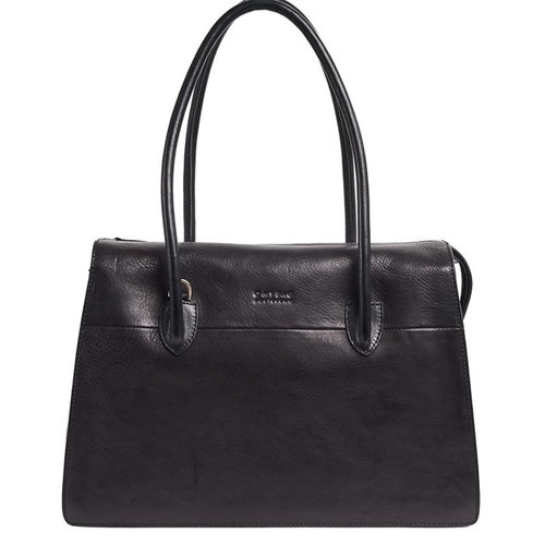 O My Bag Kate handtas zwart stromboli leder