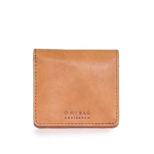 O My Bag Alex vouwportefeuille - classic leather cognac