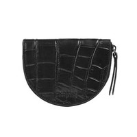 Laura portemonnee zwart croco classic leather