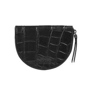 O My Bag Laura portemonnee - croco classic leather black