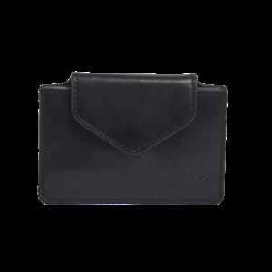 O My Bag Harmonica portefeuille zwart classic leder