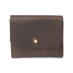 O My Bag Kaarthouder - hunter leather dark brown