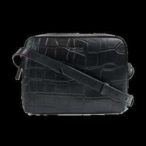 O My Bag Sue handtas croco classic leather black