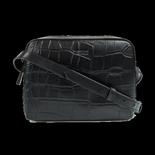 O My Bag Sue handtas zwart croco classic leder
