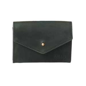 Jo's portefeuille - hunter leather groen