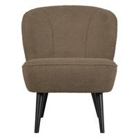 Sara fauteuil teddy clay