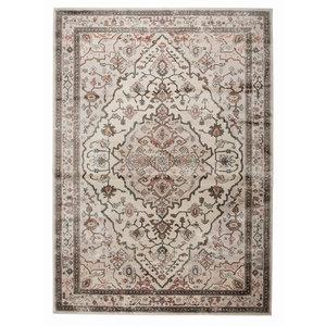 Zuiver Trijntje tapijt roze/groen