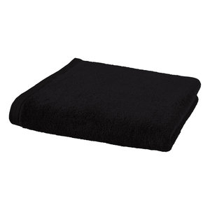 Aquanova London handdoek zwart 55 x 100