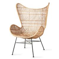Rotan egg chair bohemian