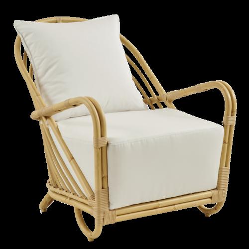 Sika Design Charlottenborg lounge stoel tuin natural