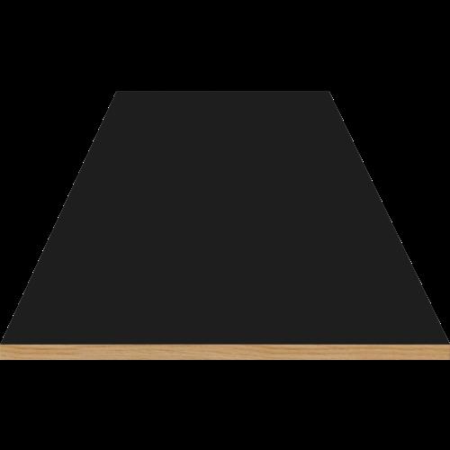 Bolia New Mood uittrekblad voor ronde eettafel zwarte fenix laminaat