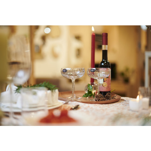 Luigi Bormioli Jazz cocktail coupeglas - set van 6