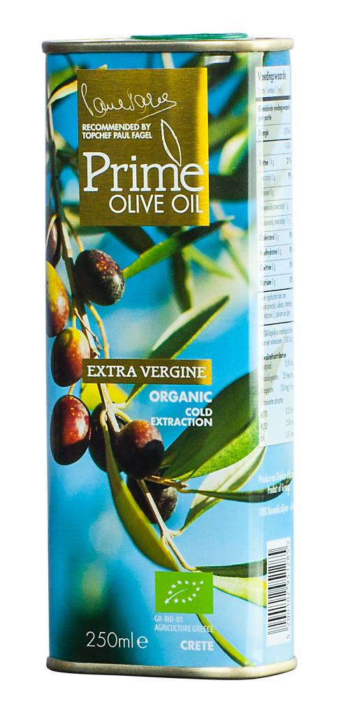 Prime Olive Oil-extra vergine BIO 250 ml