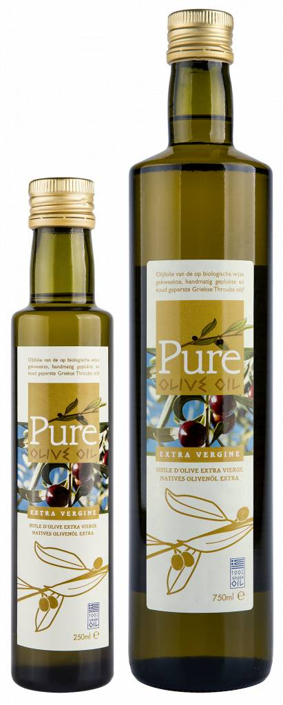 Pure Olive Oil Pure Olive Oil - extra vergine 250 ml en 750 ml
