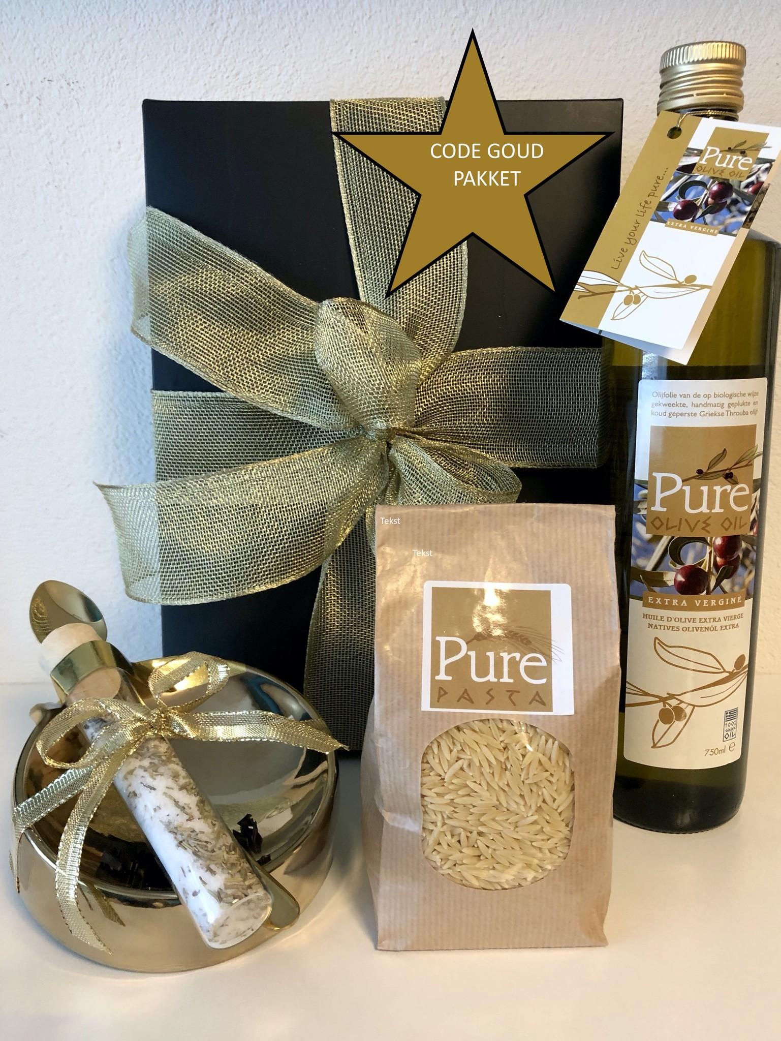 Pure Olive Oil CODE GOUD: GOUD WAAD PAKKET