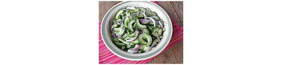 Komkommer dille salade