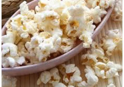 Suikervrije karamel popcorn