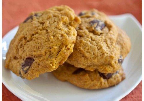 Pumpkin biscuits a la Jasmien
