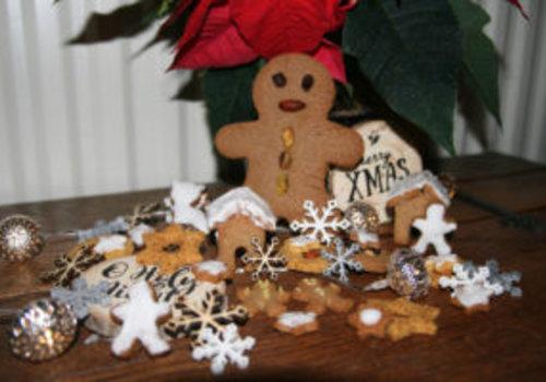 Koolhydraat-arme kerstkoekjes van Gingerbread a la Barbara