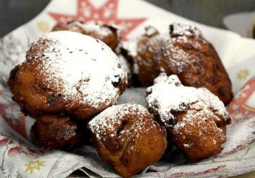 Deep fried doughnut balls